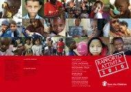 RAPPORTO ATTIVITà 2010 - Save the Children Italia Onlus