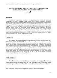 Prosedur Numerik Sistem Pembakaran/Transmutasi Limbah ... - Batan