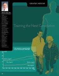 Training the Next Generation - University of Michigan Health System