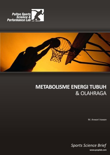 metabolisme energi tubuh & olahraga - Polton Sports Science ...