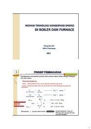 Inovasi Teknologi Konservasi Energi di Boiler dan Furnace