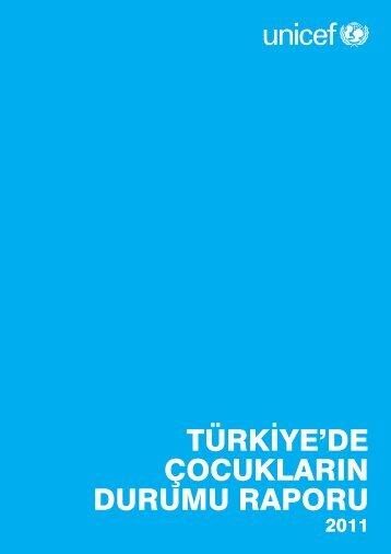 türkiye'de çocukların durumu raporu