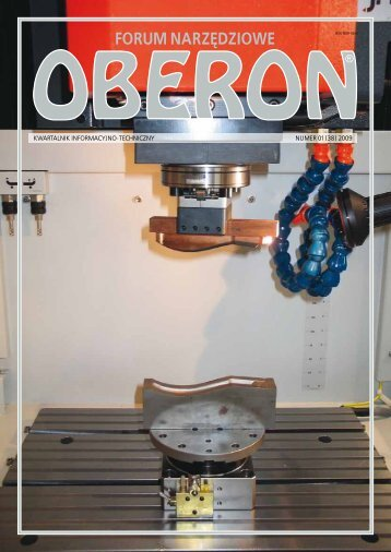 numer 01 (38) 2009 - Forum Narzędziowe Oberon