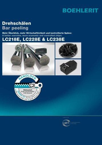 Drehschälen Bar peeling LC218E, LC228E & LC238E - Boehlerit