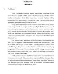 Modul 2.0.09 Pembakaran - Layanan Akademik Teknik Kimia ITB