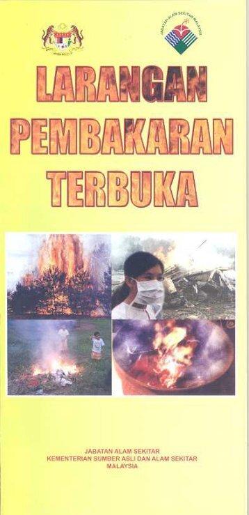 Larangan Pembakaran Terbuka