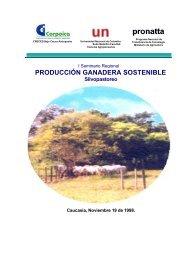 Produccion ganadera sostenible silvopastoreo - Agronet