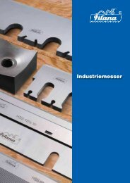 Industriemesser - Meus - Maschinen