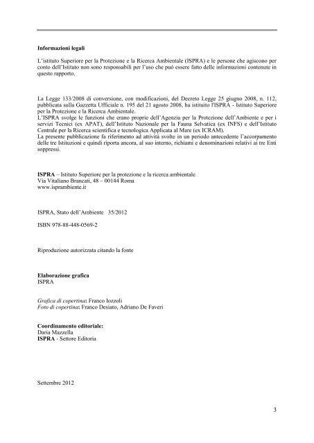 Gli indicatori del clima in Italia - SCIA