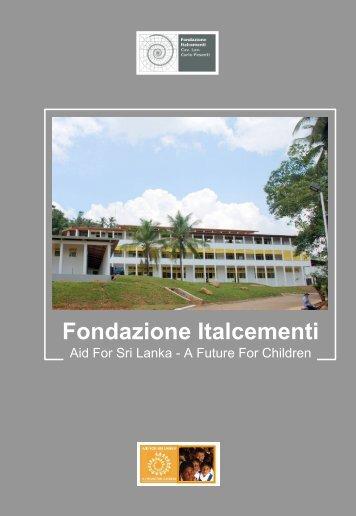 Scarica la presentazione del progetto - Fondazione Italcementi Cav ...