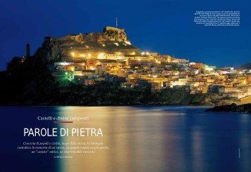 PAROLE DI PIETRA - Sardegna Turismo