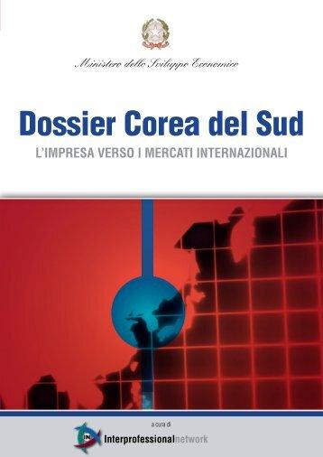 Dossier Corea del Sud - Ambasciata d'Italia in Corea
