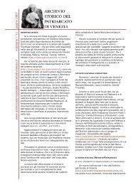 versione grafica .pdf (120 kb) - Archivio Storico del Patriarcato di ...