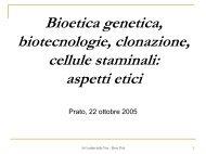 Consulenza genetica - Corso di Bioetica
