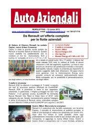 Newsletter 2 - Auto Aziendali Magazine