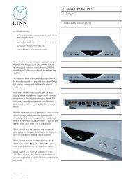 Klimax Kontrol Product Information.indd - Linn