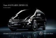 Viano AVANTGARDE. EDITION 125. - Mercedes-Benz