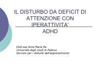 adhd - master disturbi apprendimento