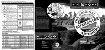 Listino AutoHome - Africaland