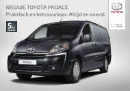 PROACE brochure - Toyota