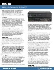 MPS-300 - Custom Controls