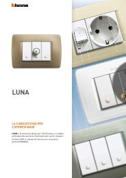 Catalogo Luna - Professionisti BTicino