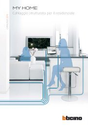 Schema Cablaggio Rete Lan Domestica : Guida mh cablaggio strutturato residenziale professionisti bticino