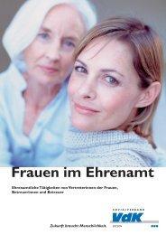 Frauen im Ehrenamt - Der VdK