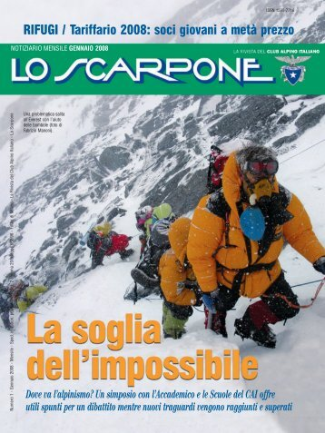 Dove va l'alpinismo? - Club Alpino Italiano