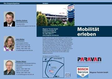 Flyer Bosch Paravan - Der VdK