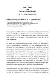 Silbernes Lorbeerblatt - Rede des Bundespräsidenten.pdf - Der VdK