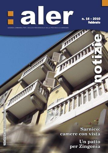 Periodico dell'ALER di Bergamo – Anno 6 Numero 16