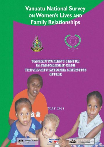 Vanuatu National Survey on Women's Lives and Family - AusAID