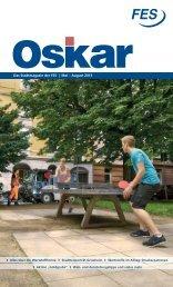 Oskar - Das Stadtmagazin der FES-Ausgabe 2/2013