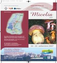 Micelia2007-pdf - Wba - World Biodiversity Association
