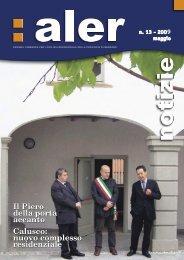 Periodico dell'ALER di Bergamo – Anno 5 Numero 13