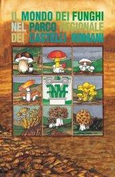 il mondo dei funghi nel parco regionale dei castelli romani