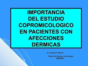 importancia del estudio copromicologico - cordobalergia.com