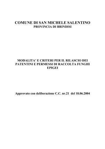 Rilascio dei patentini e permessi di raccolta funghi epigei
