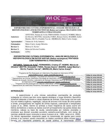 análise micológica - Universidade Federal de Pelotas