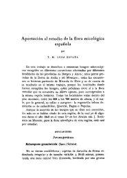 Aportación al estudio de la flora micológica española - Real Jardín ...