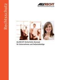 ALLRECHT-Sicherheits-Konzept für Unternehmen ... - Vdk-online.de