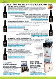 prodotti chimici abarth - DbWeb - Co.ra SpA - Cora