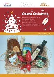 Cesto Calabria - Bottega Solidale