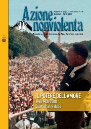 Aprile 2008 - Movimento Nonviolento