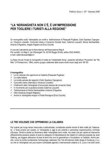 Pollicino Gnus n. 157 - Gennaio 2008