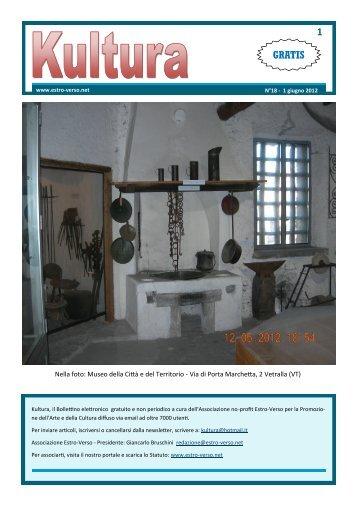 Newsletter 18 - Estro-Verso