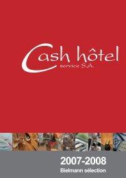 Bielmann sélection - Cash hôtel