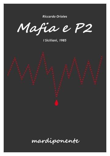 Mafia e P2. I Siciliani - Fondazione Nesi