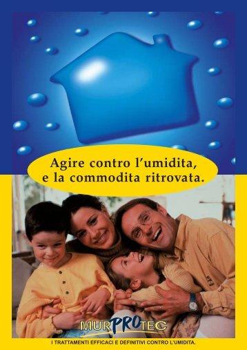 Murprotec Brochure 8 p. Italie